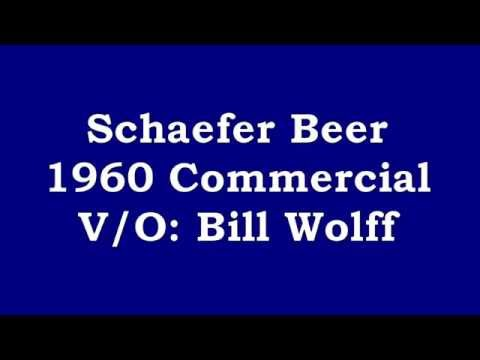 Schaefer Beer 1960 Radio Commercial