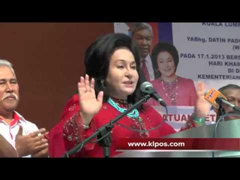 Rosmah Mansor : CINCIN RM24 JUTA (BERSUMPAH)