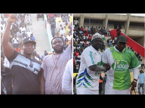Ama Baldé, Lac Rose et Moussa Ndoye dans les coulisses de Kéweul vs Aliou Mané