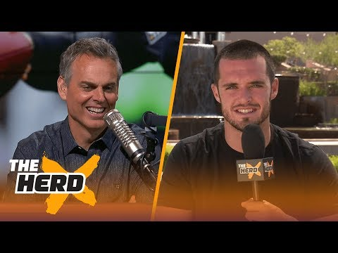 Derek Carr discusses his return from injury, Marshawn Lynch and more | THE HERD (FULL INTERVIEW)