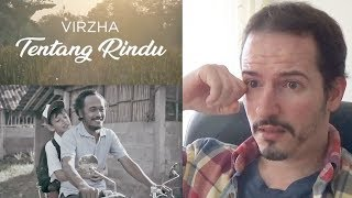 Gambar cover VIRZHA - TENTANG RINDU • ABOUT RINDU Official Music Video REACTION + REVIEW