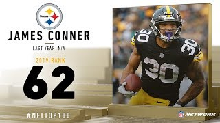 #62: James Conner (RB, Steelers) | Top 100 Players of 2019 | NFL