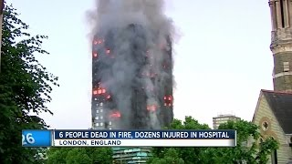 Fatal Grenfell apartment fire in London