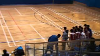 20150126 學界男子籃球 真道 -聖若瑟英文中學1