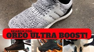 searching for oreo ultra boost 3 0 mall vlog