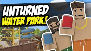 WATER PARK - Unturned Roleplay | Funny Moments!
