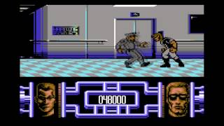 Terminator 2 - C64 Playthrough - no cheating