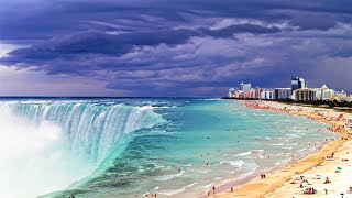 Посмотрите, Что Происходит на Самом Опасном Пляже в Мире