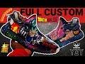 Full Custom | Dragon Ball Z SUPER YEEZY V2 by Sierato