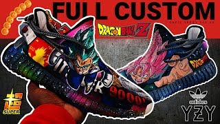 Full Custom | Dragon Ball Z SUPER YEEZY V2 by Sierato thumbnail