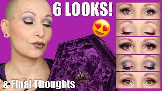 Jeffree Star BLOOD LUST Palette | 6 LOOKS & Final Thoughts