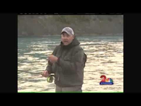 Fishing report sockeye salmon kenai river youtube for Kenai river fish counts
