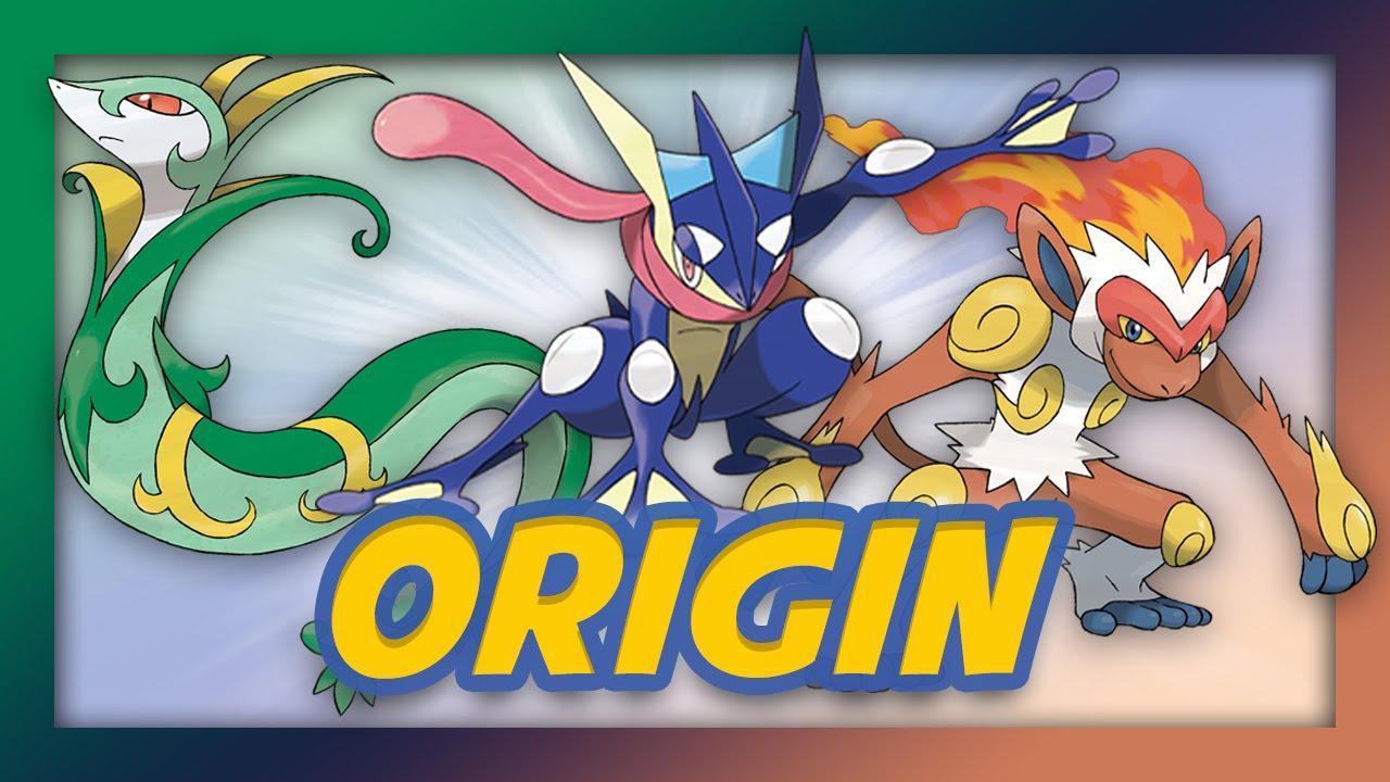 pokemon origin starter pokemon part 2 youtube