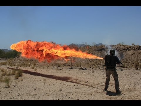 US M2/M2A1 Flamethrower