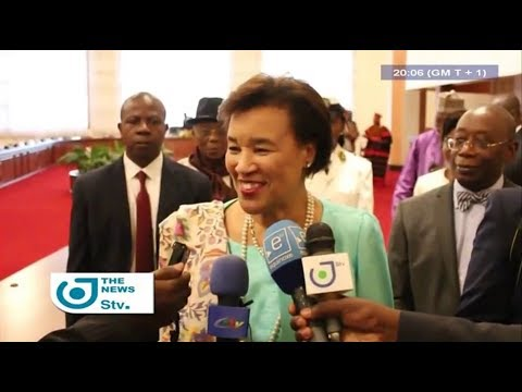 STV NEWS 08:00 PM - (Patricia SCOTLAND : DIALOGUE is the ONLY SOLUTION to the ANGLOPHONE CRISIS)