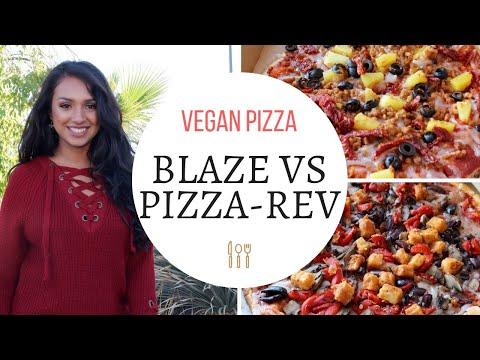 Vegan Pizza Blaze vs. Pizza-Rev