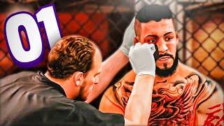 🥊 MI PRIMER K.O  ... || MODO CARRERA #1 - UFC 4