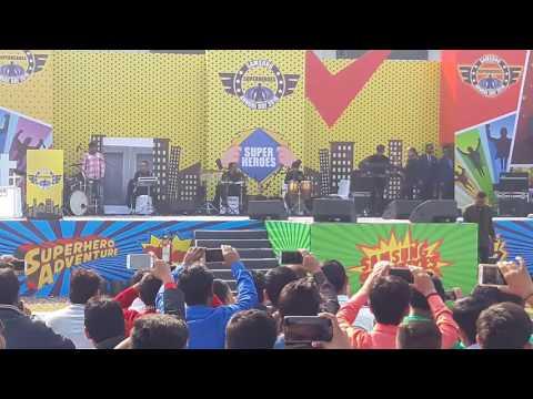 sugandha mishara live performance in samsung noida by manish sejkar