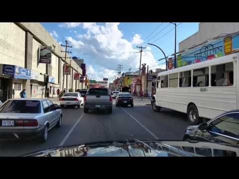 Driving Through Nogales