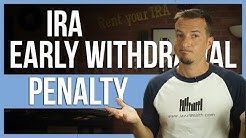 ⚠ Ira Roth IRA early withdrawal penalty   FinTips 🤑