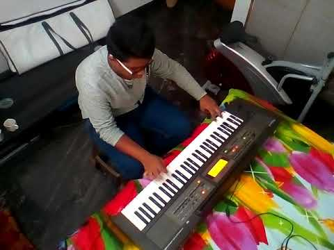 Jigal Bell keyboard playing