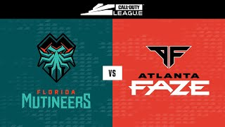@Florida Mutineers vs @Atlanta FaZe | Stage I Super Week | Day 4