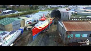 Oceania Marine - Drone Video of Advantage Project - Before Refit