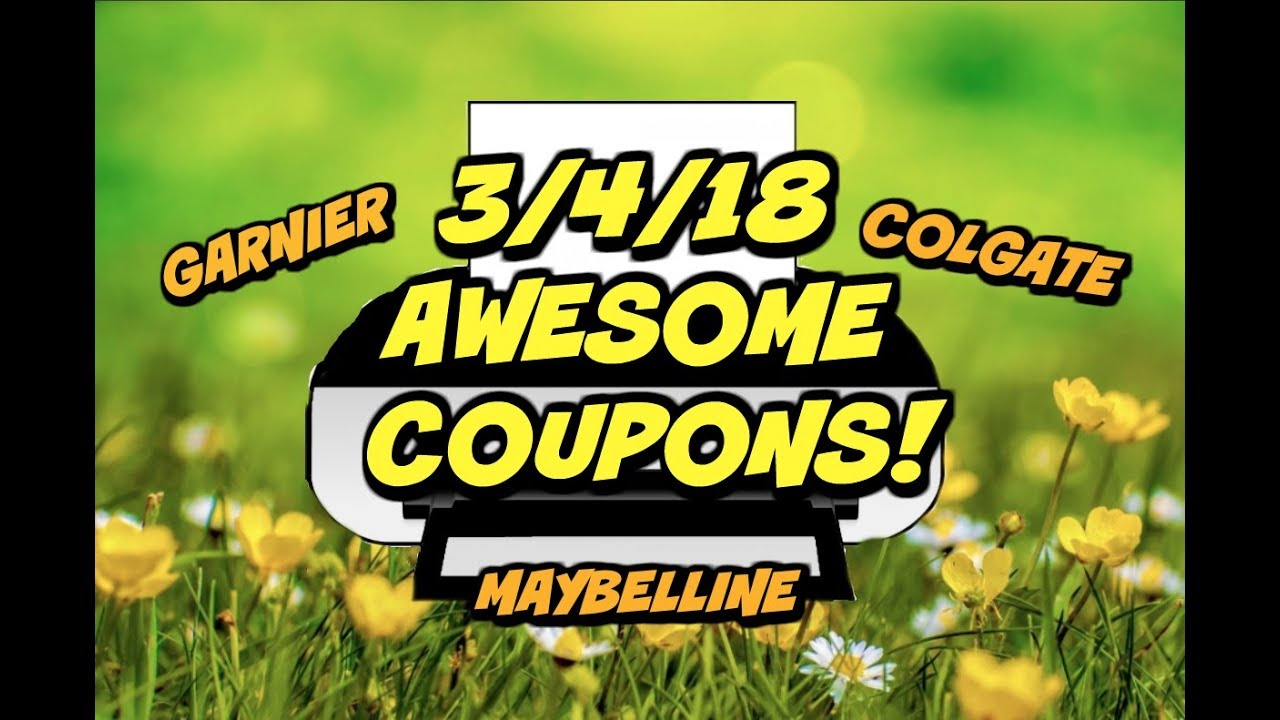 photograph regarding Maybelline Printable Coupons named 3/4/18 Sizzling Refreshing PRINTABLE Discount codes ~ Garnier, Colgate, Maybelline far more!