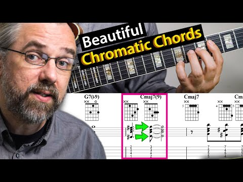Beautiful Chromatic Sounds And How to add them to Jazz Chords