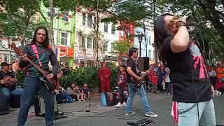 Buskers baru jamming di Sogo Kuala Lumpur
