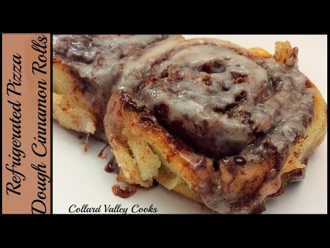 CVC's Cinnamon Rolls Out Of Refrigerated Pizza Crust. Mama's Best Southern Baking