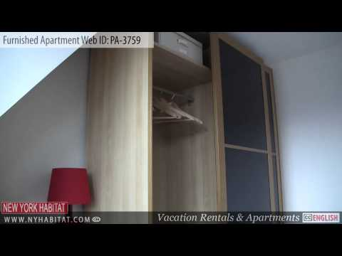 Video Tour of a 2-bedroom furnished apartment on rue du Faubourg Saint Honoré, Paris