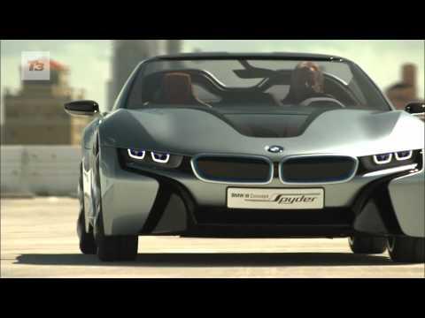 BMW i8 Concept Spyder video