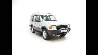 A Fabulous Land Rover Discovery XS 300Tdi Series One with 48,493 Miles - £10,995