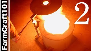 Making a Foundry Furnace From An Old Water Heater, Part 2