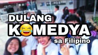 Filipino Dulang Komedya