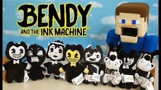 Bendy and the Ink Machine MINI PLUSH?! Collector Clips Series 1 Unboxing