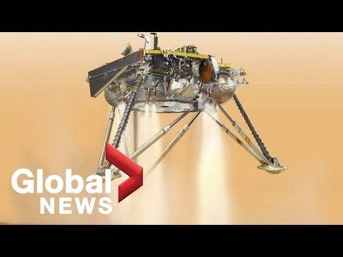 NASA's Mars InSight lander drops \
