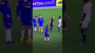 Хитрый Фабрегас в матче Челси - Эвертон