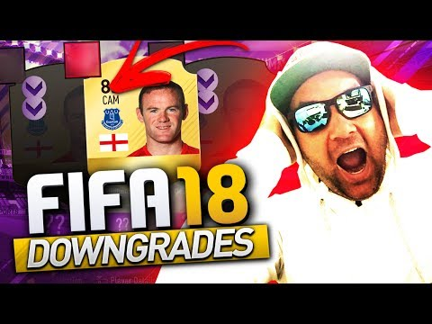 """POLÊMICO""  FIFA 18 DOWNGRADES - ROONEY, INIESTA, ALBA e MAIS"