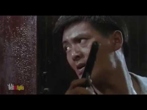 Chow Yun fat in  Hard Boiled Restaurant scene