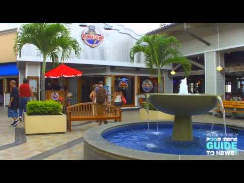 "ALA MOANA SHOPPING CENTER HD ""Waydes World Hawaii"""