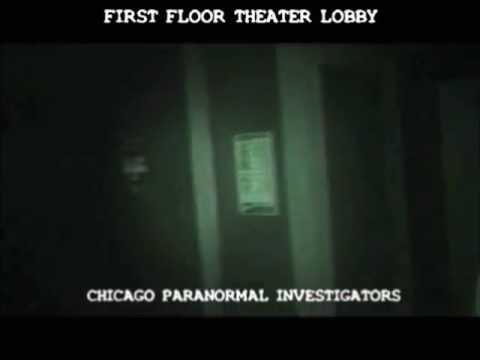 Chicago Paranormal Investigators - Congress Theater 1st Floor Theater Lobby Unexplained Voice
