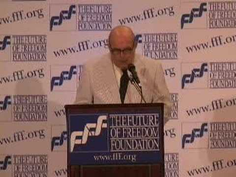 Ralph Raico at FFF Conference, Part 1 of 7