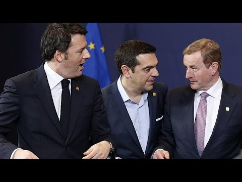 EU holds crisis talks on Ukraine, Greece
