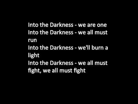 Into The Darkness - Lyrics The Phantoms