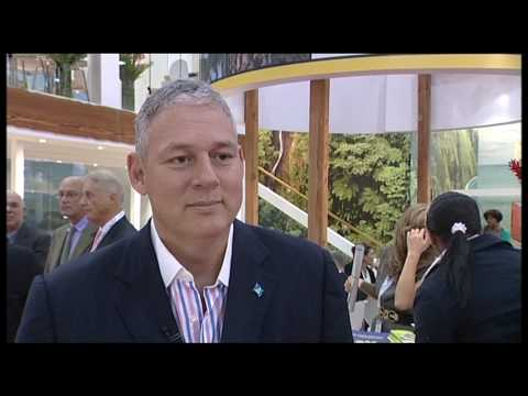 Senator the Hon. Allen Chastanet, Minister for Tourism & Civil Aviation, St Lucia @ WTM 2009