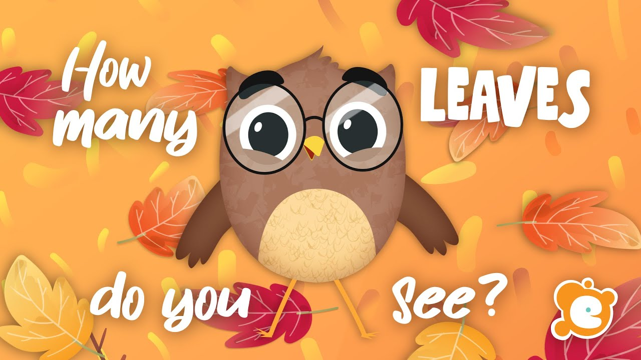 How Many Leaves? - A Simple Fall Counting Song for Kids by ELF Learning