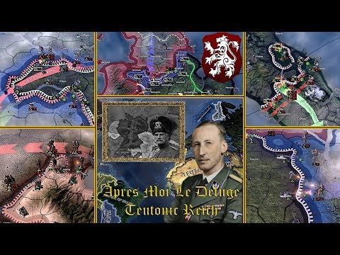 Hearts of Iron 4 | Apres Moi Le Deluge | Teutonic Reich | Power to