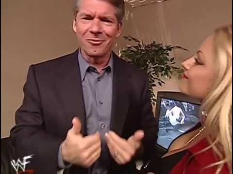 Vince McMahon Wants A Good Luck Kiss From Trish Stratus